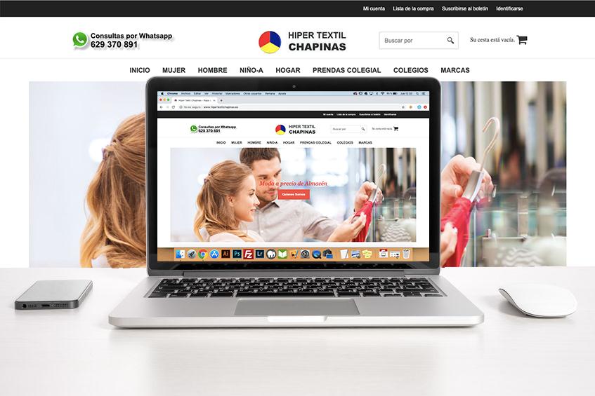 Desarrollo de Tiendas Online Hiper Textil