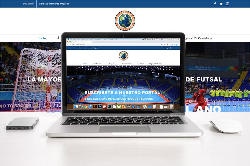 FutsalCoach el portal del Futbol Sala en Español