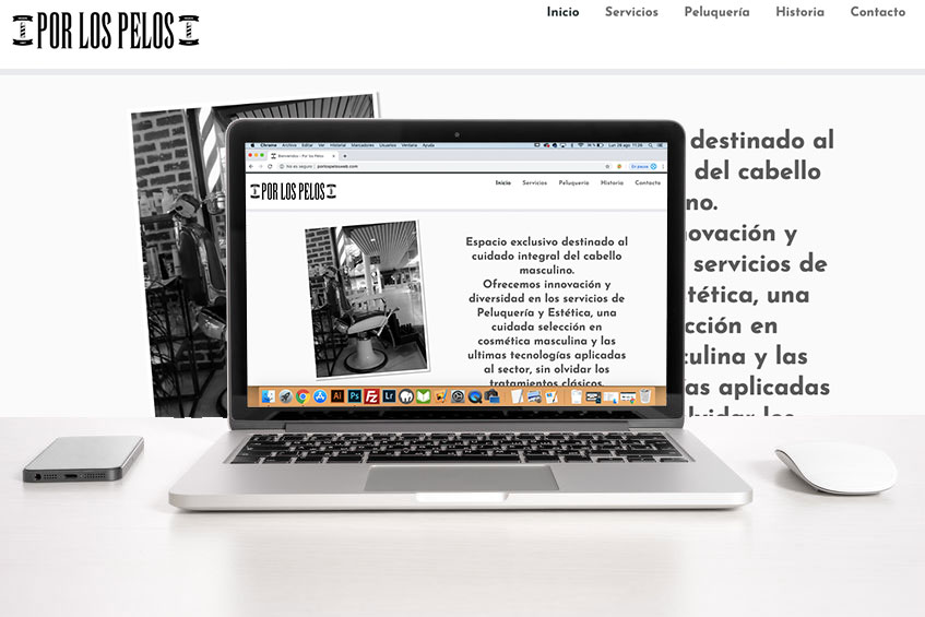 Sitios Web para Peluquerías