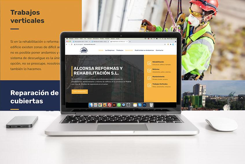 Rehabilitación de edificios - Alconsa